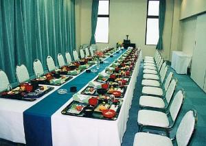 会食テーブル・椅子席
