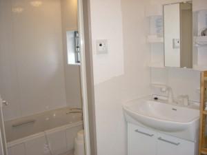 宿泊施設の風呂・洗面
